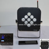 9*12W 5in1 RGBWA Battery Wireless PAR Can Lights (YS-124)