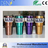 Colorful Vacuum Insulated Stainless Steel Rambler Tumbler Cooler Yeti Mug