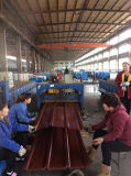1045mm, 840mm PPGI Color Coated Galvanized Corrugated Steel Roofing Sheet