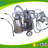 Double Single Bucket Portable Goat Cow Milking Machine