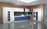 2016 Modern Rta Customized Lacquer Kitchen Cabinets (zz-047)