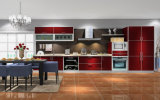 High Gloss UV Lacquer Kitchen Cabinet (zx-068)