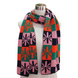 Lady Long Fashion Acrylic Knitted Scarf (YKY4190)