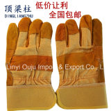 Wholesales 10.5 Inch Cow Split Leather Working Gloves for Welding