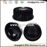 CNC Machining Aluminium Round-Shape Cooler with Good Service