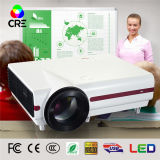 1.8-6.9m High Brightness LED Projector Mini PC