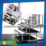 Acrylic Makeup Organizer with Drawers, Clear Acrylic Cosmetic Display