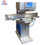 Transversal Ink Cup One Color Pad Printing Machine for Wooden Ruler
