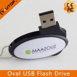 Egg Oval Swivel Plastic USB Flash Drive (YT-1116)