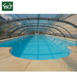 Clear Polycarbonate & Aluminum Swimming Pool Cover