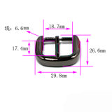 Hot Sale Metal Zinc Alloy Harness Buckle Pin Belt Buckle for Garment Shoes Handbags (YK1252)