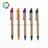 Good Quality Paper Ball Point Pen Cheap Pen Office Stationery for Promotional Gift