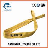 Poylester 3 Tons Flat Webbing Sling /Eye-Eye Webbing Sling Manufacturer