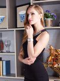 Alloy Case Genuine Leather Japan Movement Wrist Quartz Fashion Watch for Ladies