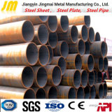 API 5L Steel Pipe ERW Welded Steel Tube Black Steel Tube Price