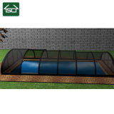 Popular Design Rounded Roofing Pool Cover