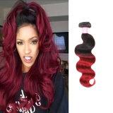 Brazilian Human Hair Unprocessed Virgin Hair Body Wave 3 Bundles Red Omble Hair Weave