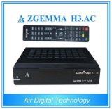 DVB-S2+ATSC Twin Tuners Zgemma H3. AC FTA Satellite Receiver Linux OS for America/Mexico Channels