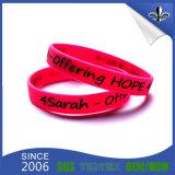 New Custom Personalized Silicone Rubber Wristband Bracelet Wholesale