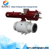 Pneumatic Forged Trunnion Ball Valve