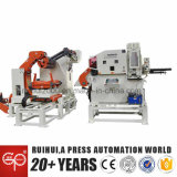 Coil Sheet Automatic Feeder with Straightener Help to Making Electric Parts in Gree
