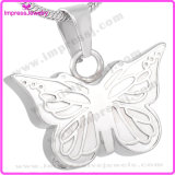 Ijd8051 Wholesale Cheap Butterfly Stainless Steel Cremation Pendant Necklace Memory Necklace Ashes Keepsake Holder