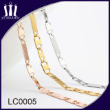 2017 New Gold Metal Stainless Steel Chain for Girls