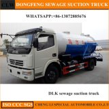 4X2 120 HP 5000-8000lsewer Drainage Vacuum Sewage Suction Truck