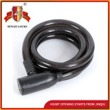 Jq8209-Q The Lowest Price Spiral Cable Lock Bicycle Lock Motorcycle Lock