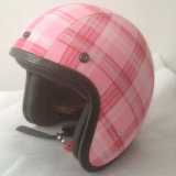 2017 Newest Half Face Motorcycle Safety Helmet with Various Sizes for Sale