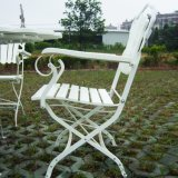 Heavy Duty New Folding Armchair with Metal Structure Outdoor