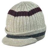 Acrylic Knit Visor Cap