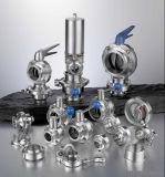 Sanitary Stainless Steel Ss304/316 Pneumatic Reversing Valves