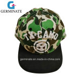 Baseball Hat with Print and Emb at Front panel (LY002)