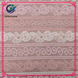 Floral 100 Polyester Cheap Mesh Lace Fabric Rolls
