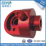 China Precision Machining Parts with Red Anodized (LM-0623B)