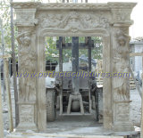 Stone Marble Granite Arch Door Surround for Doorway Archway (DR005)
