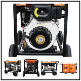 5kw Air-Cooled Diesel Generator Set (Big Wheels)