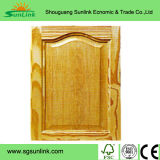 2016 New Design Kitchen Cabinet Door Interior Position PVC Wooden Door