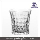 Diamond Design 8oz Engraved Glass Cup (GB041008ZB)