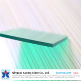 4mm Light Green Reflective Glass for Curtain Wall