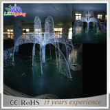 Outdoor Aritificial 3D LED Motif Lights Holiday Decoration Fountains