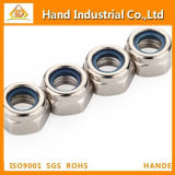 Stainless Steel Fastener Nylon Lock Nut DIN985982