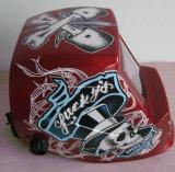 Speed Skull/Solar Powered Welding Helmet 92*42mm (G1190TC)