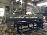 Bottle Label Remover Machine/Pet Plastic Recycling Machine