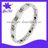 2013 Gus-Cmb-005 Hot Ceramic Wrist Watches Bracelet for Man with Magnets Far Infrared and Tourmaline Healthy Bracelets