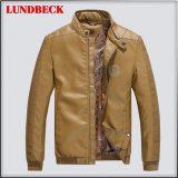 Fashion Winter PU Jacket for Men Leisure Coat Cloth