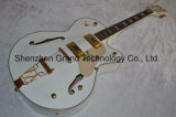 String Instrument / Custom Electric Guitar with White Falcon (GG-1)