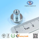 D16mm Strong Power Neodymium NdFeB Magnetic Pot Assembly