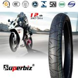 Durable High Speed Use Motorcycle Tyre (80/80-14)